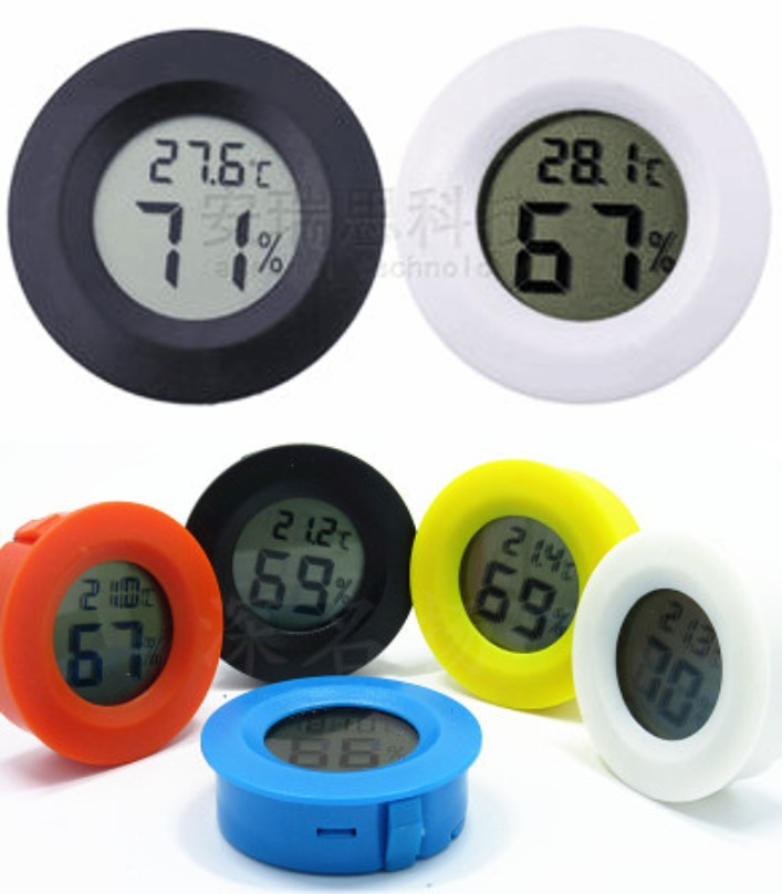 Digital Hygrometer Thermometer Temperature Humidor