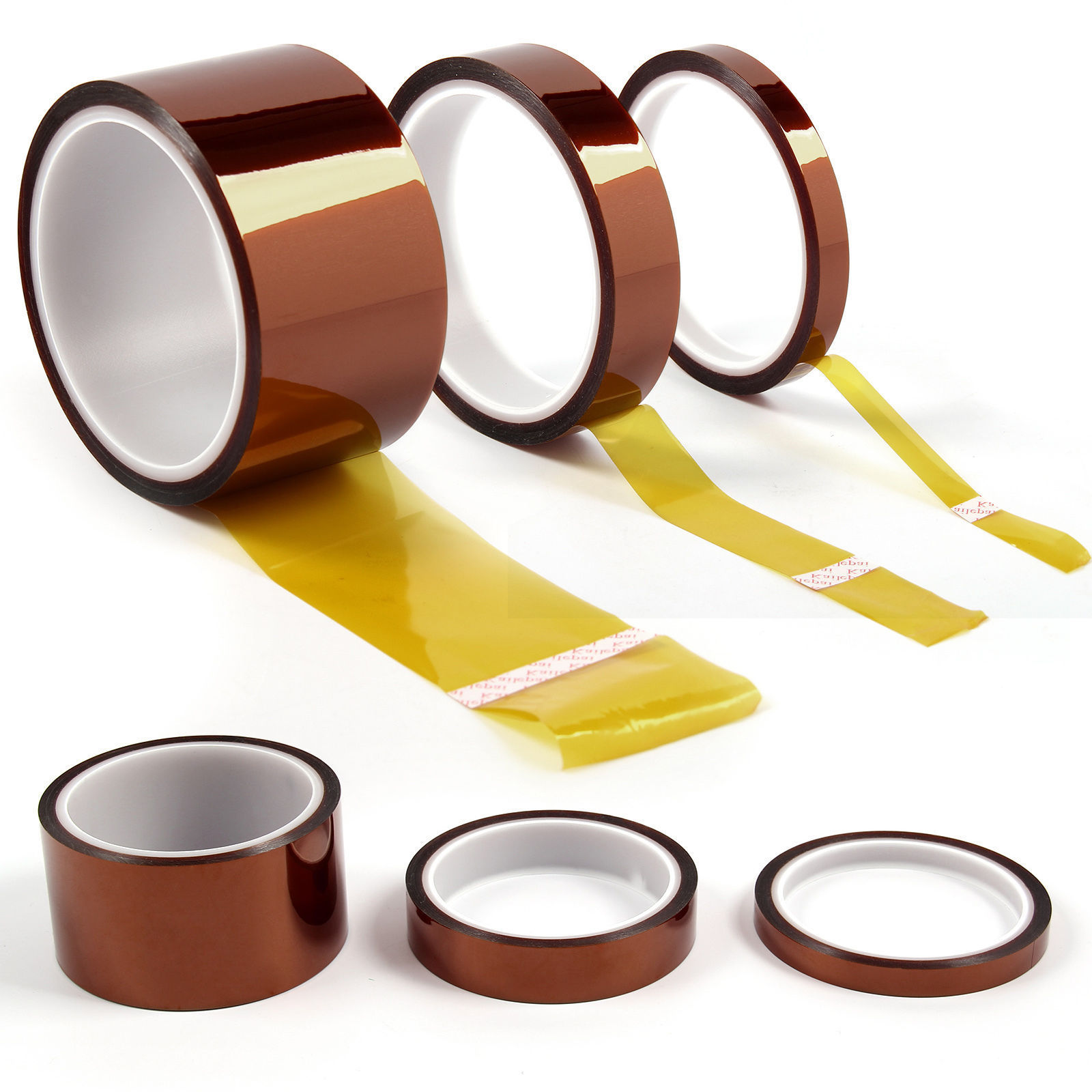 10mm Kapton Tape High Temperature Heat Resistant
