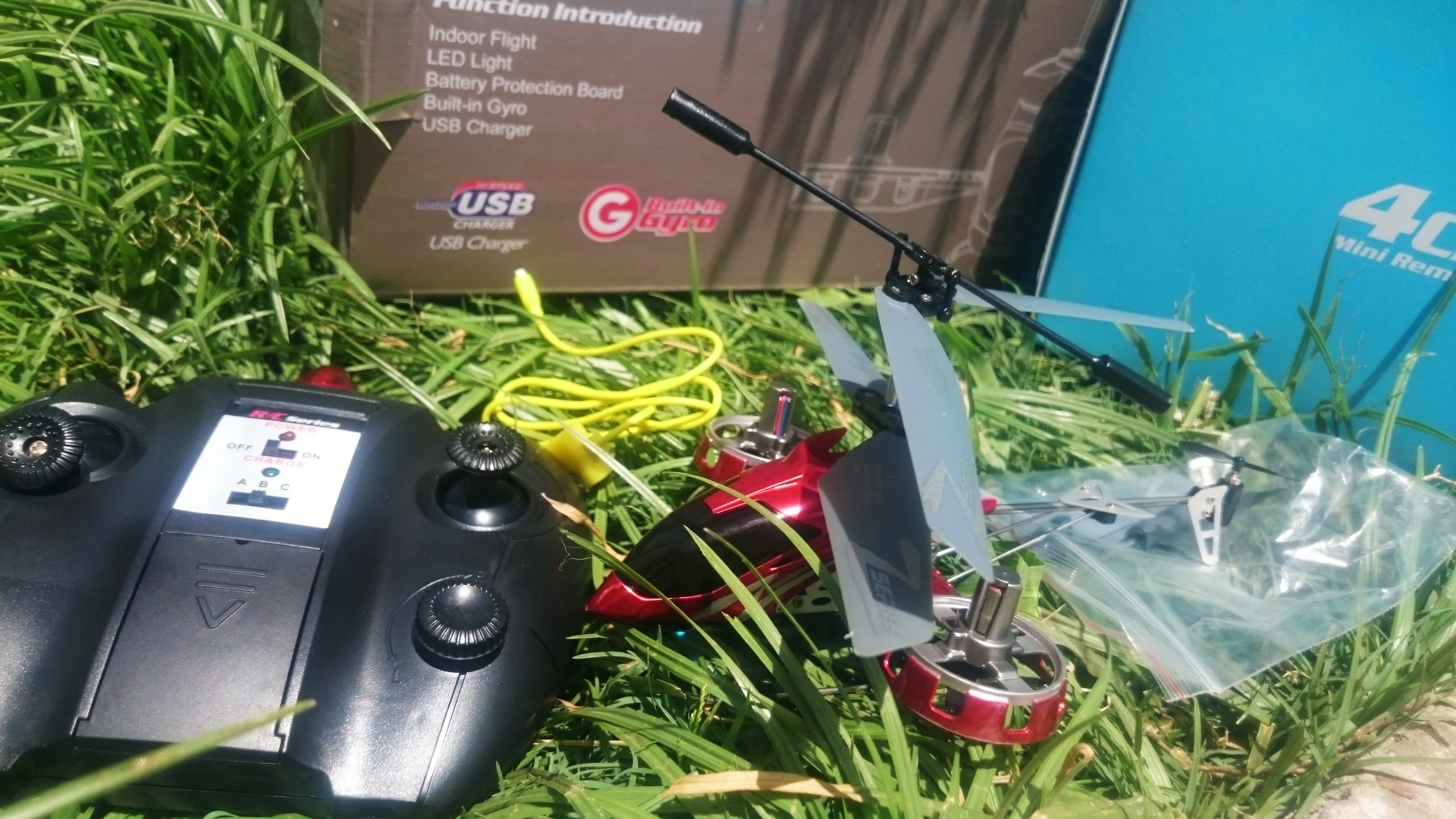 4ch RC helicotper  with Gyro,infrared