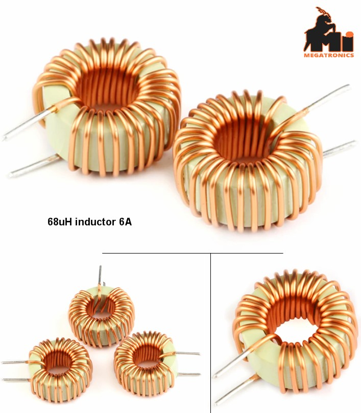 toroid inductor 68uH 04425 6A