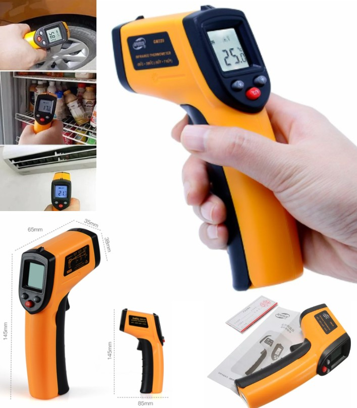 GM320 IR Infrared Thermometer Temperature Digital