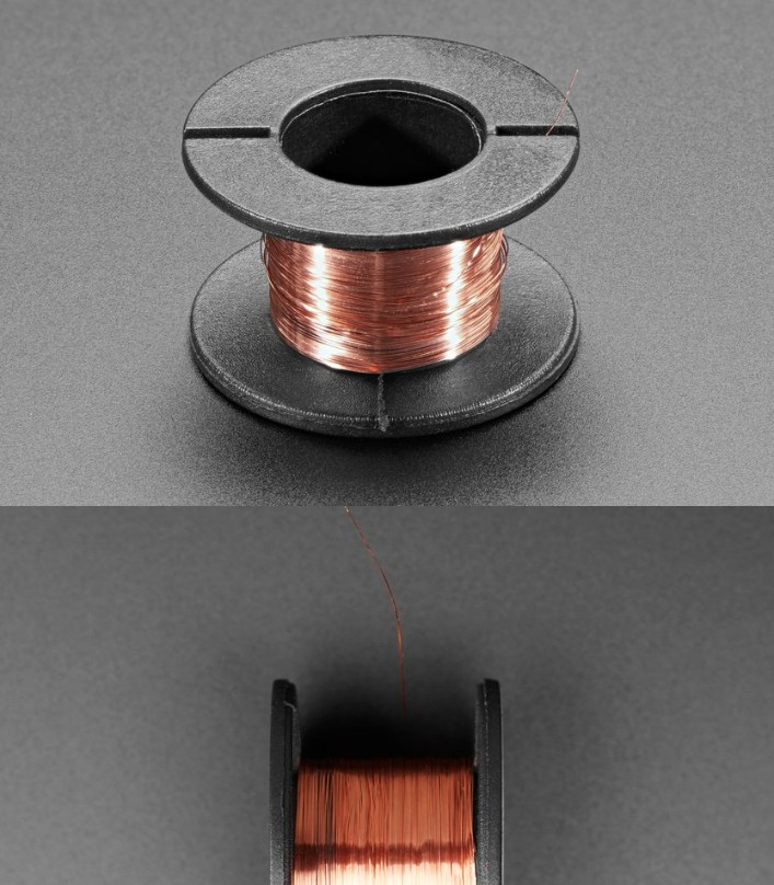0.1mm insulated jumper wire enameled wire