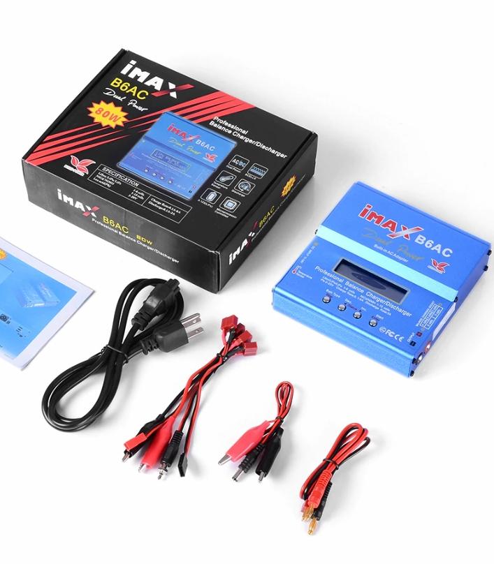 IMAX B6AC 1-6S LiPo/NiMH/LiFe Charger BuildPower G
