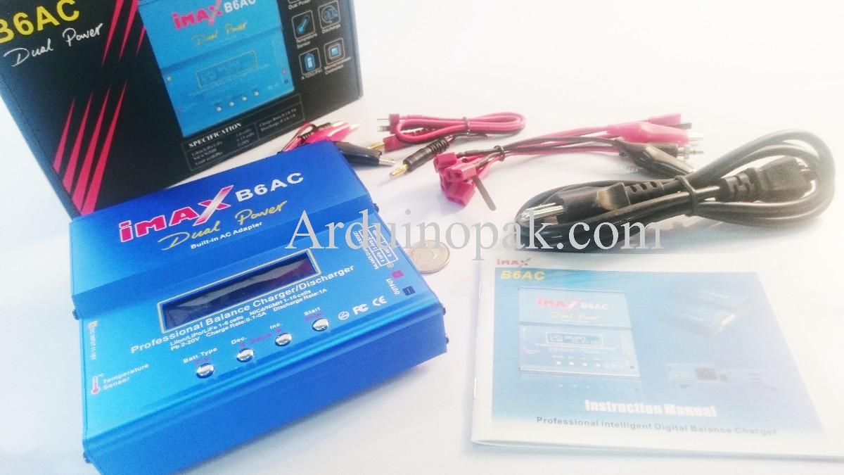 IMAX B6AC 1-6S LiPo/NiMH/LiFe Charger SkyRC Genuin