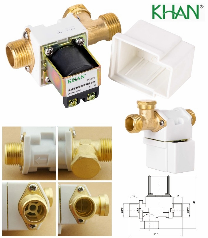 KHAN 220V AC HQ solenoid valve fluid