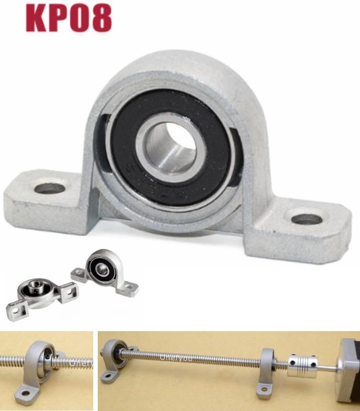 KP08 8mm T8 Linear Bracket bearing Pillow for CNC