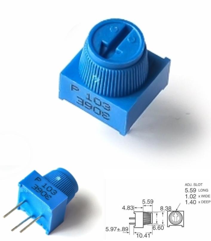 3386P-1-103 10K variable resistor Potentiometer Tr