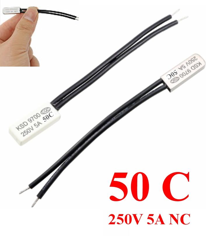 KSD9700 50C Thermostat Temperature  Switch 250V 5A