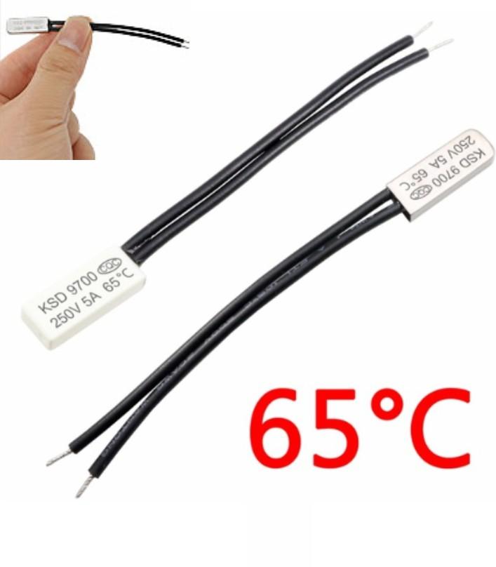 KSD9700 65C Thermostat Temperature  Switch 250V 5A