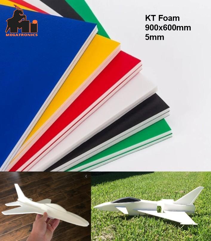 KT foam board 90*60CM 5mm aircraft glider DIY mode