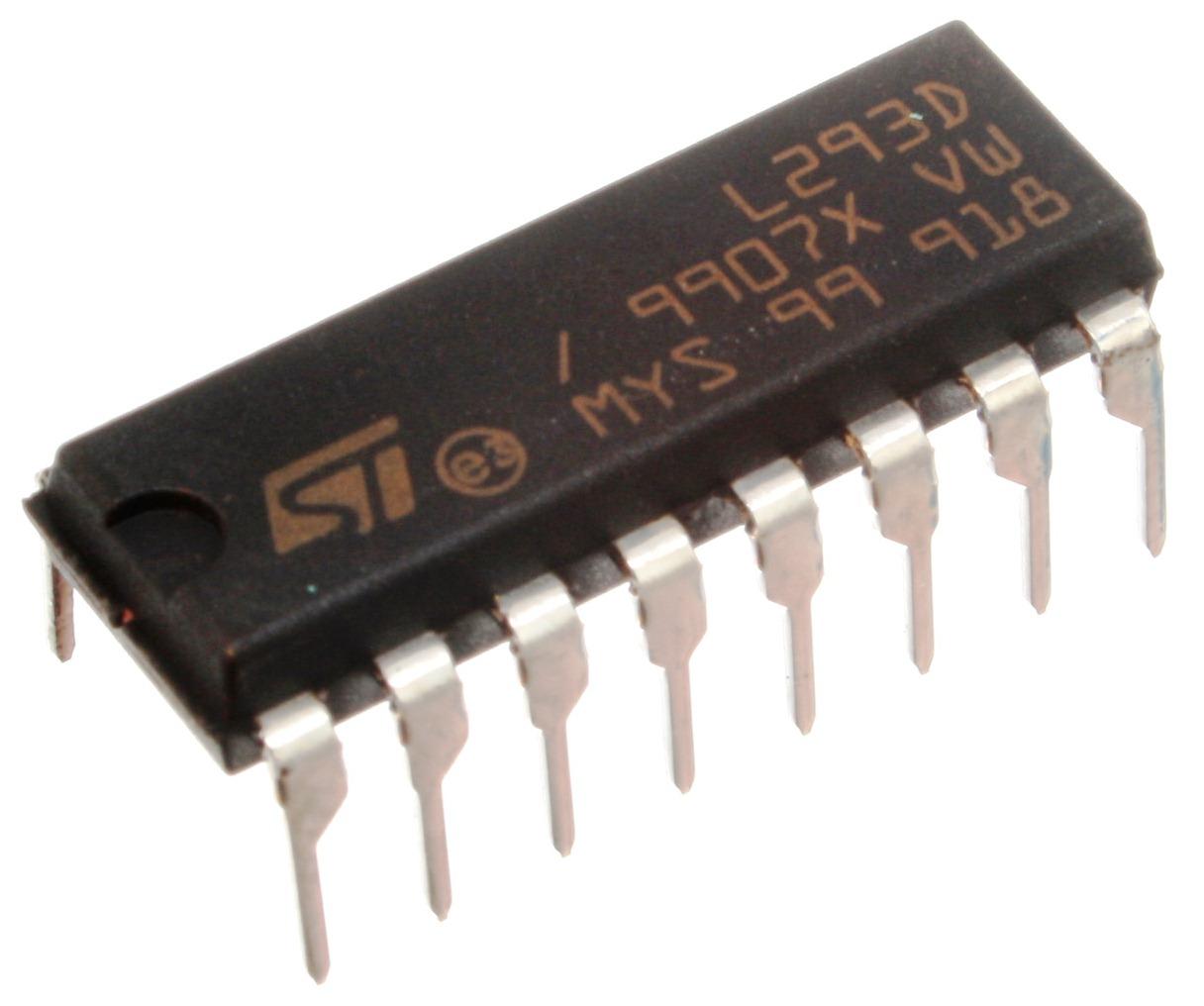 l293D dual H-Bridge Motor driver IC DIP