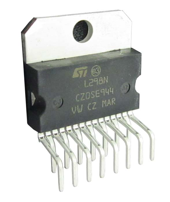 L298N H-Bridge Motor Driver IC