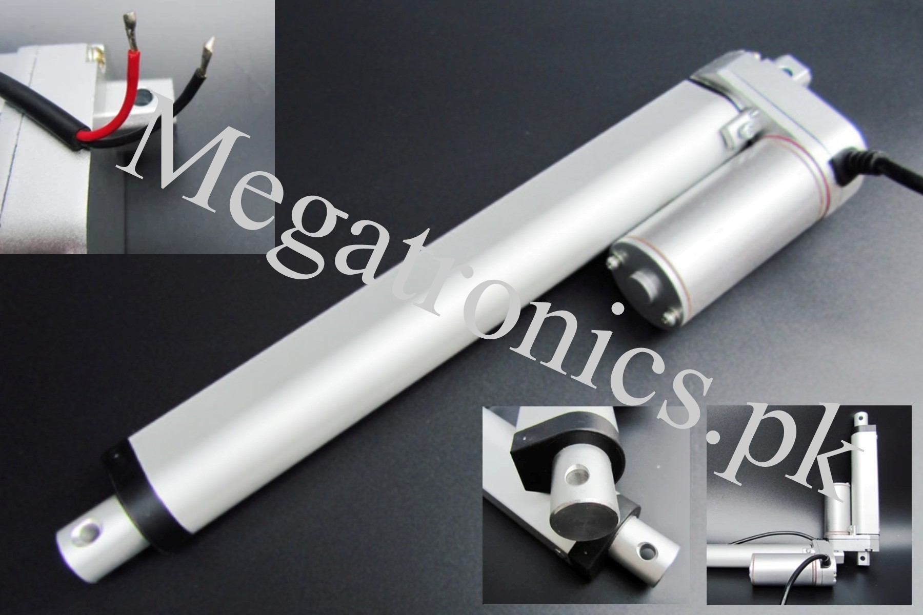200mm 12V DC Linear Actuator Motor