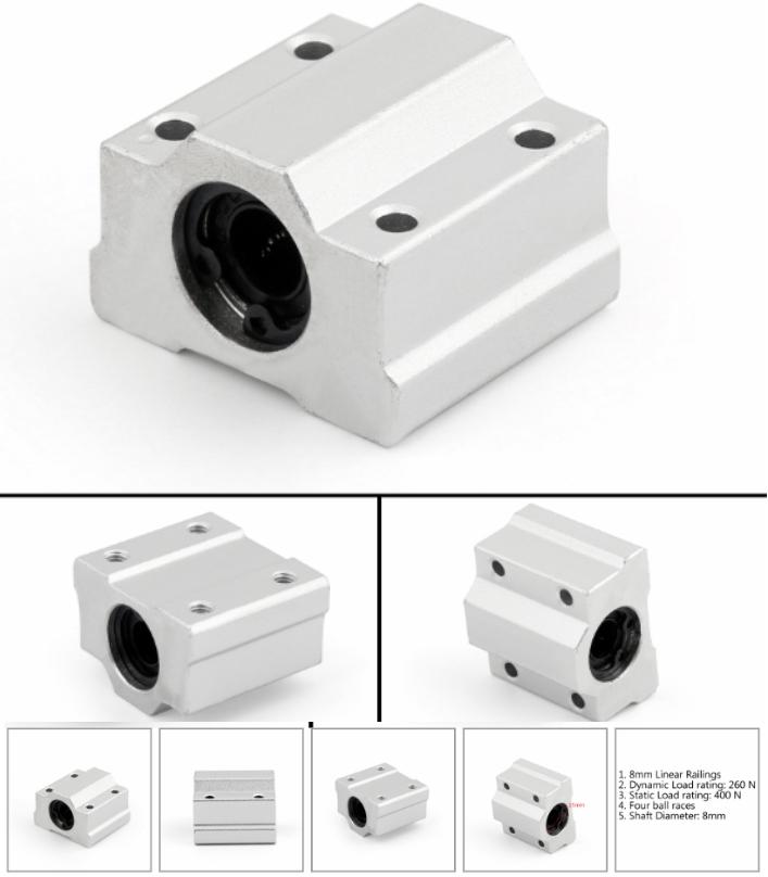 3D Printer CNC Linear Bearing Slider Shaft SC8 SC8