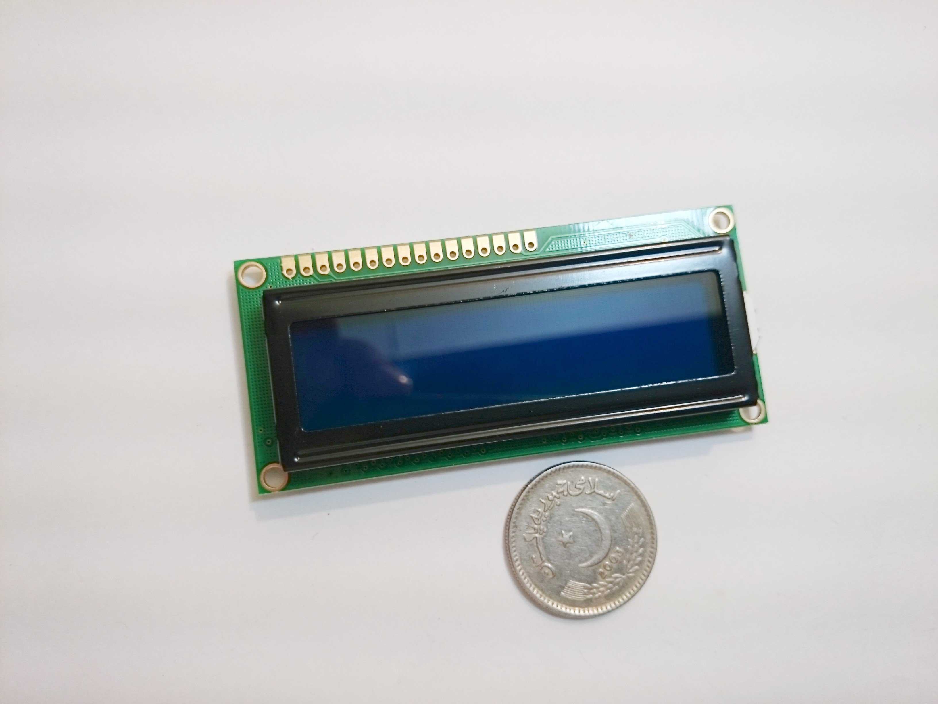 16x2 Character LCD Module; Size : 80.0*36.0*11.8mm