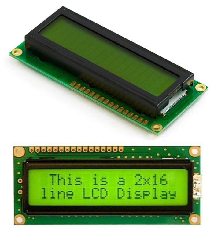 2x16, 16x2 Character LCD Module Arduino PIC 8051