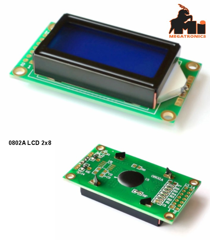 0802 0802A LCD Screen LCD Display Module