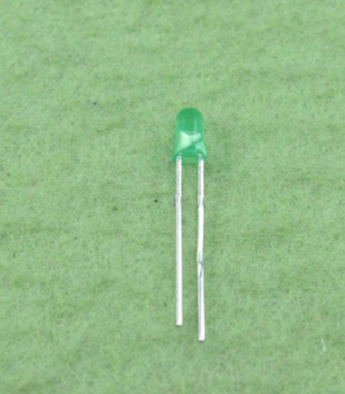 3mm LED Green High intensity lght