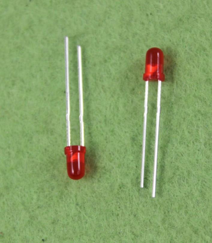 3mm LED Red High intensity light
