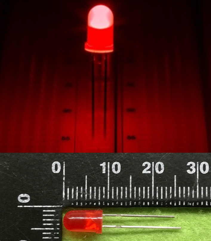 5mm LED RED High intensity