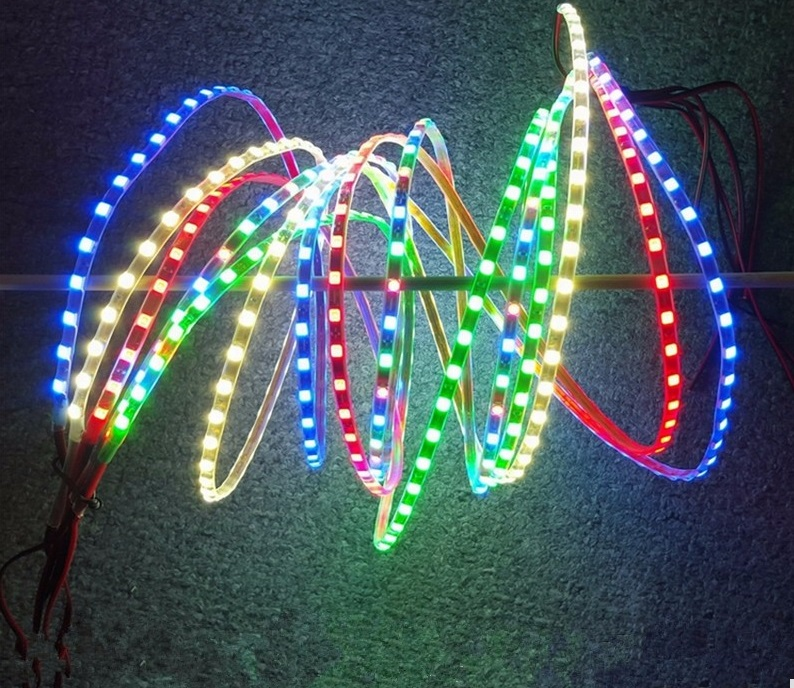90CM SMD LED Strip Blue Flexible