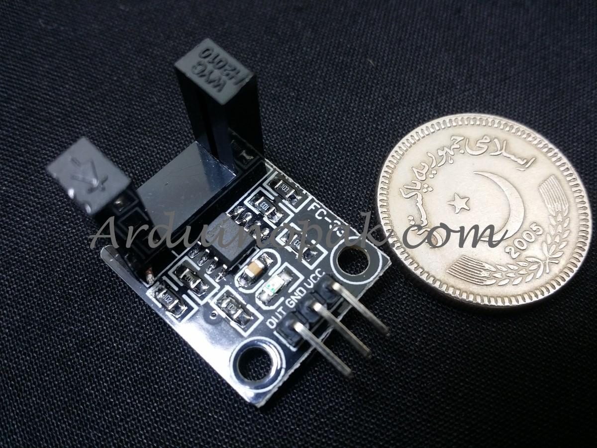 LM393 Beam Infrared Photoelectric Velometer Sensor