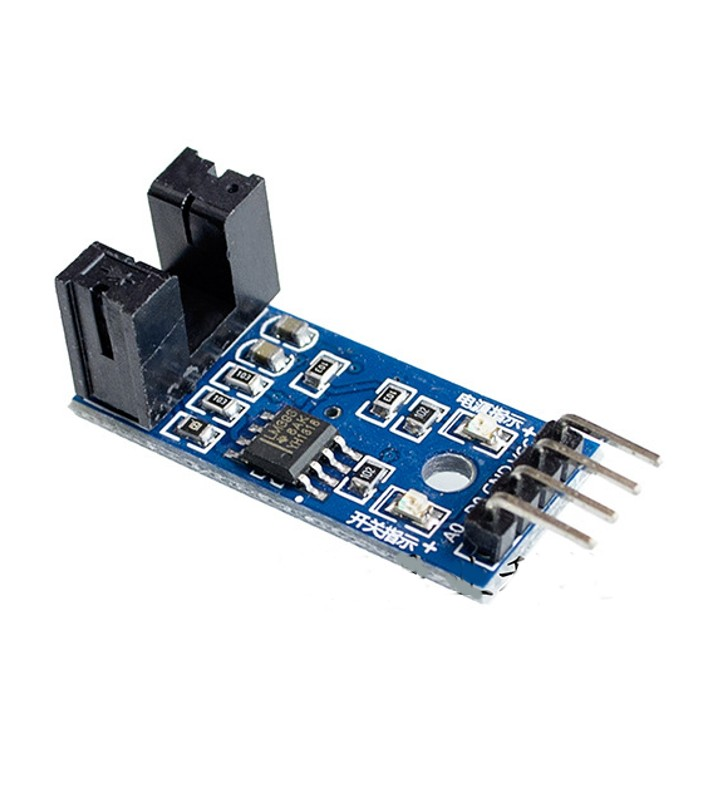 LM393 Beam Infrared Photoelectric Velometer Sensor