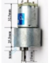 24V 100rpm DC Gear box Motor High Torque