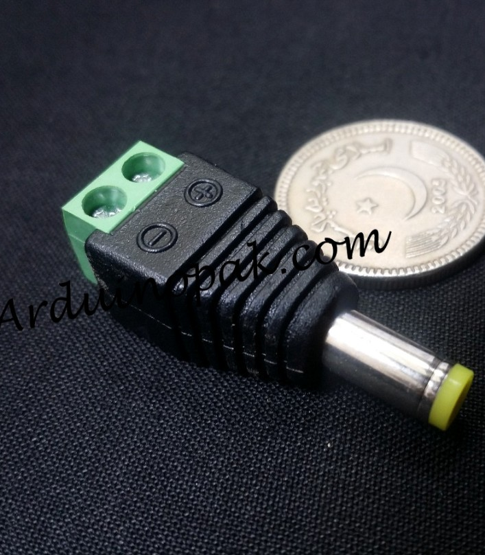 DC Power connector Male jack 5.5x2.1mm