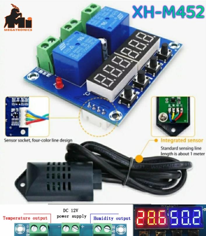 XH-M452 Temperature Humidity Control Hygrometer DC