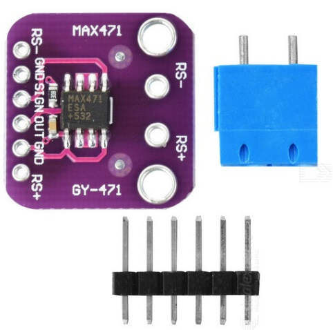 GY-471 3A Range MAX471 Current and voltage Sensor