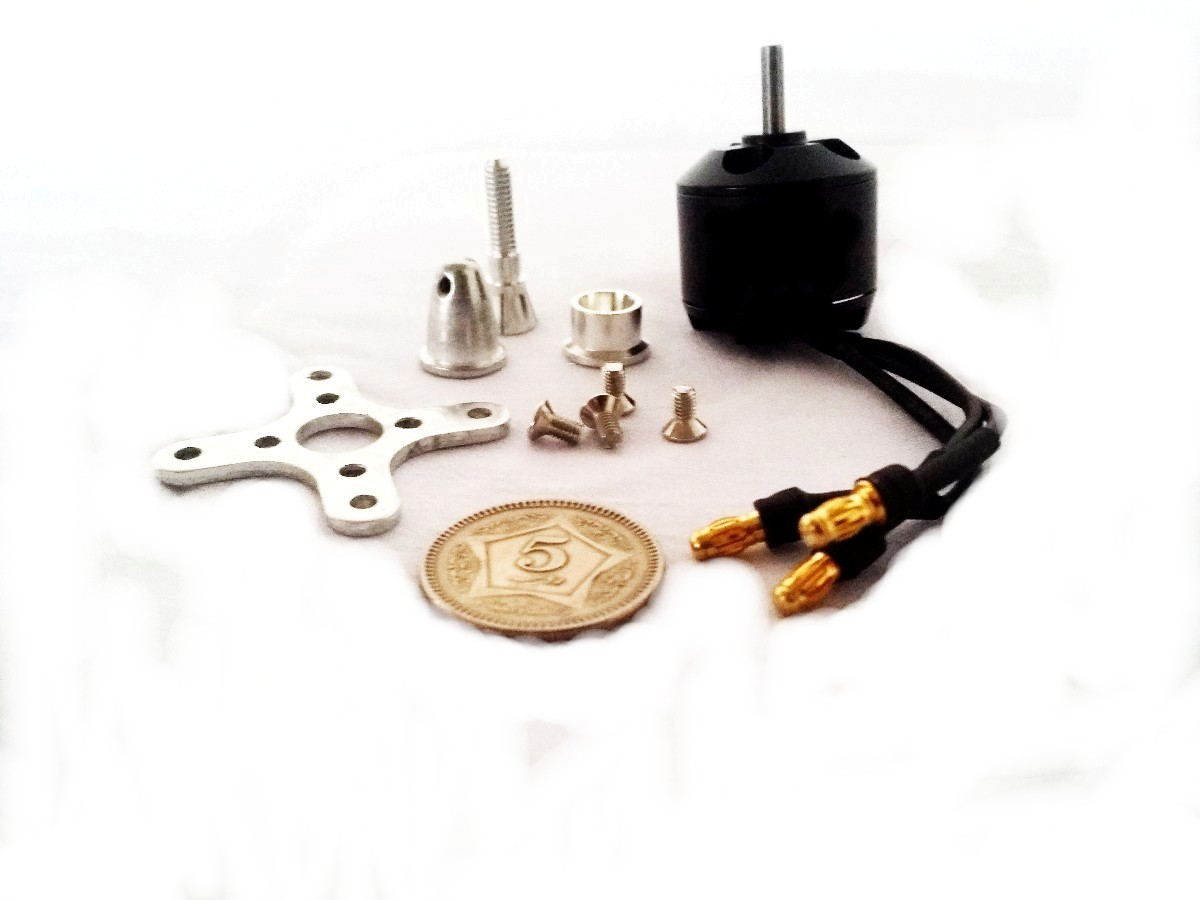 A2212 2200KV Outrunner Bruhless motor + Parts