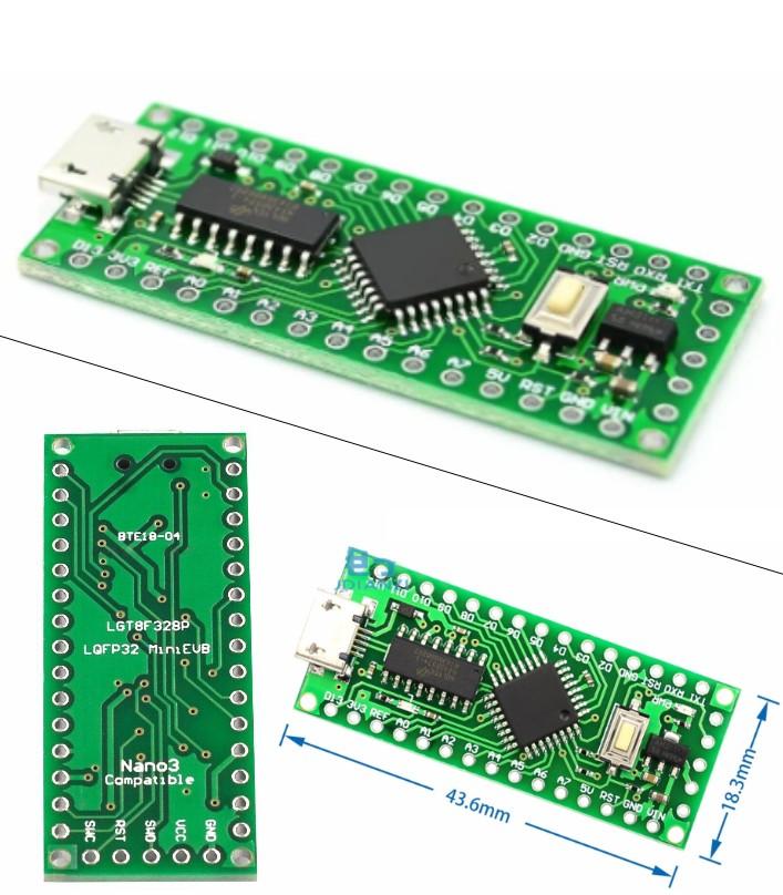 LGT8F328P-LQFP32 MiniEVB Arduino Nano V3.0 HT42B53
