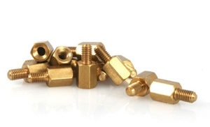 M3 Male to Female Brass Hex Standoff Spacer 12+6mm