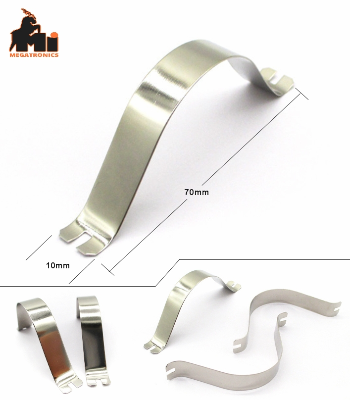 Pipe clamp U-Shaped Pipe mounting clamp clip 70mm saddle motor mount metal holde