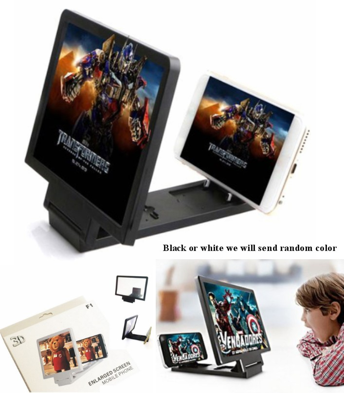 Screen Magnifier 3D HD Video Amplifier Cell Phone