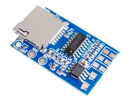 TF Card MP3 Decoder Board 2W Amplifier Module