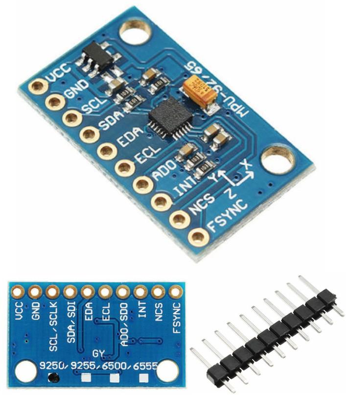 MPU-9250 GY-9250 9 Axis Sensor Module I2C SPI