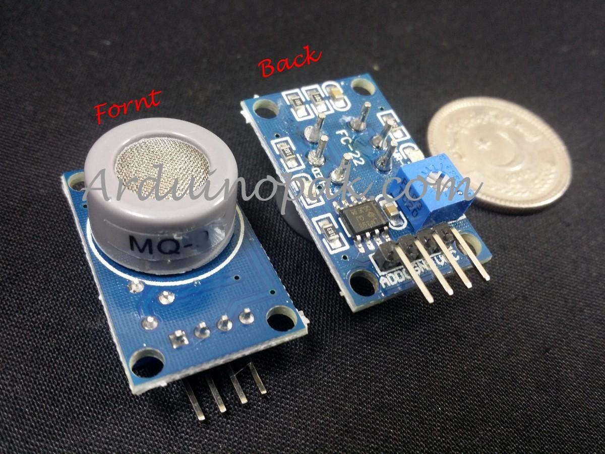 MQ-7 Carbon Monoxide CO Gas Sensor Detection Module