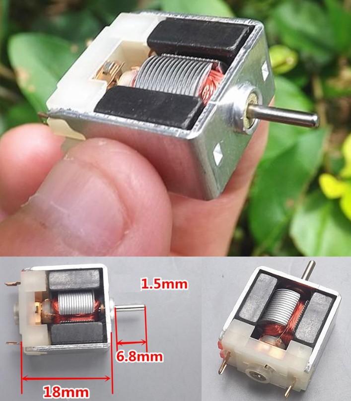 020 2-5v DC motor DIY bare permanent magnet