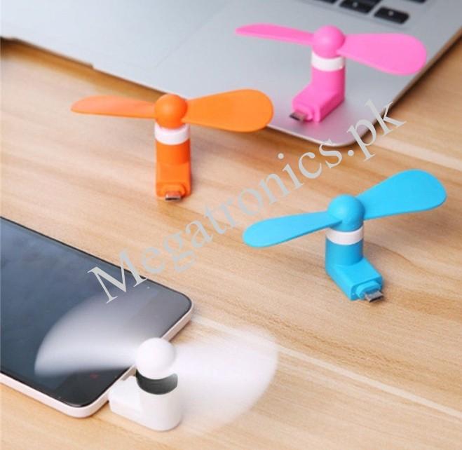 Portable Mobile Phone Mini Micro USB Fan Android