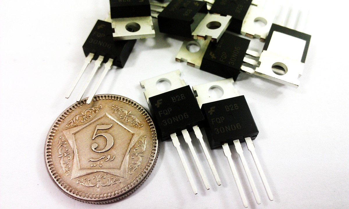 Atmega328 Uln2003 Diode Resistor Capacitor Pakista The N Type Mosfet Irf3205s Can Be Replaced With Different Types Of Channel 60v 30a Fqp30n06l