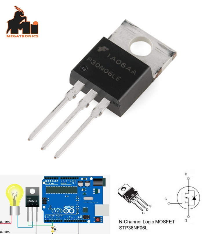 N-Channel MOSFET 60V 30A FQP30N06L
