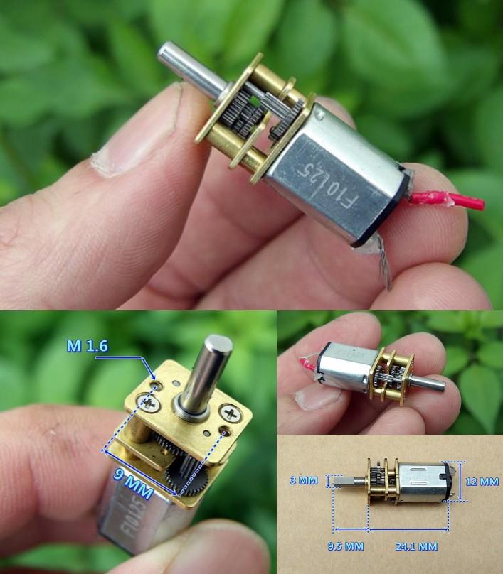 GA12-N20 5V 50 RPM  Gear Motor Precision DIY 3.7v