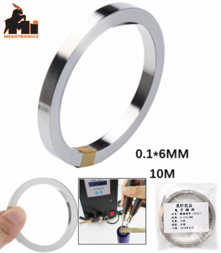 10m 18650 Nickel Strip Belt Tape 0.12mm Li-ion Bat