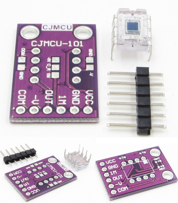 OPT101 Analog Light Sensor Light Intensity Module