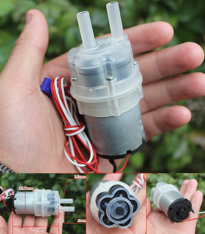 12V self-priming water pump small diaphragm piston