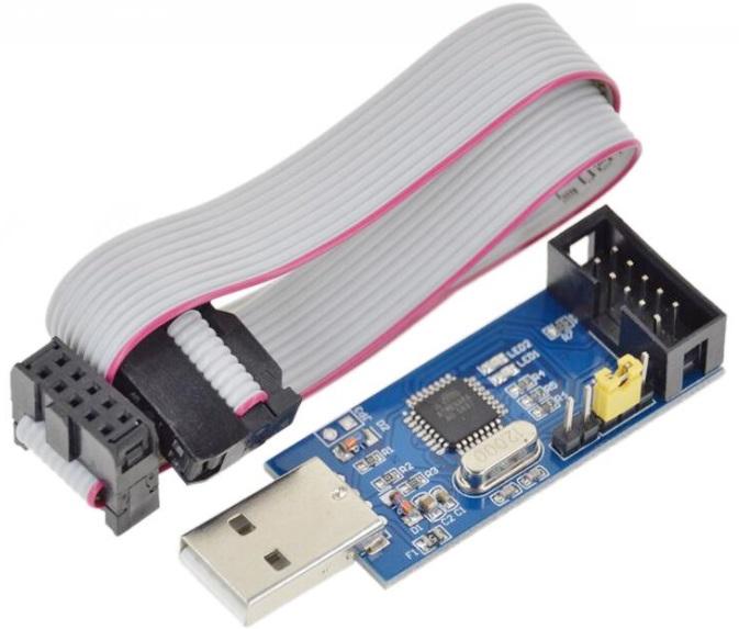 51 AVR Programmer ISP USBASP Usbisp Download Cable
