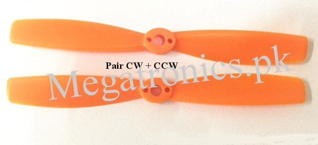 6045 Props CW CCW Quadcopter propeller Orange