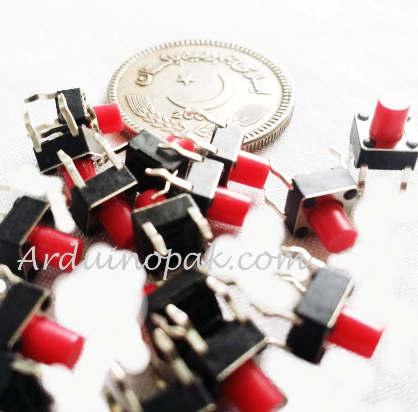 Momentary Tactile Push Button Switch SPST Miniatur
